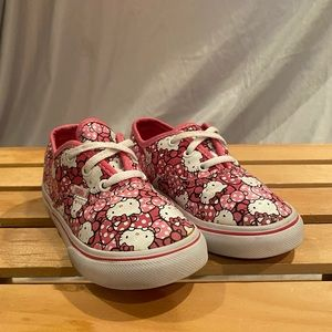 Vans Hello Kitty Shoes Toddler Girls Size 8.5